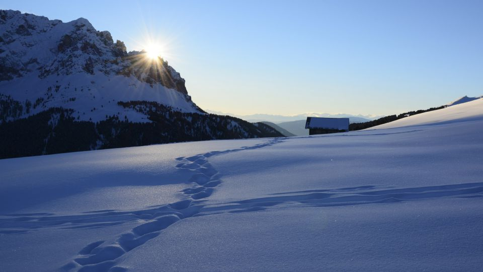 Picture: Winter hiking trails in Alta Badia