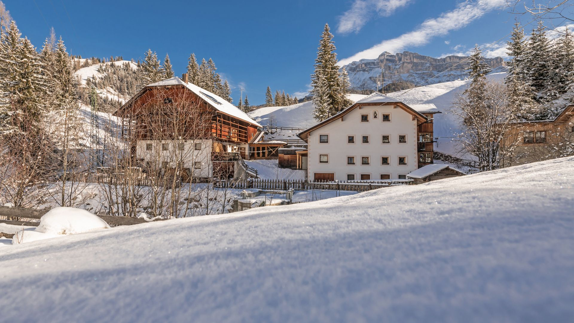 Image: Farm holidays apartment Lüch da Murin in Alta Badia
